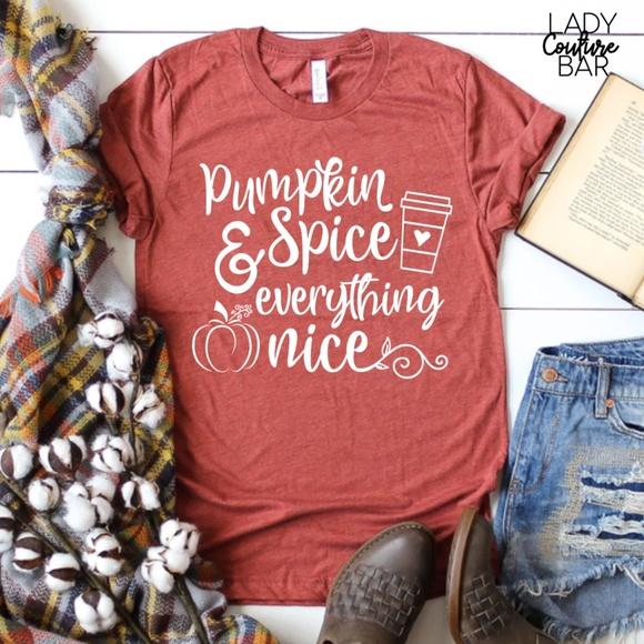 158b4754 Tops | Fall Shirts For Women Holiday Shirts Pumpkin | Poshmark